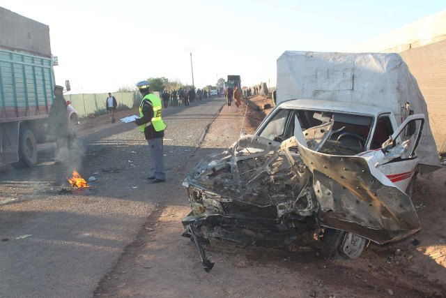 حوادث الطرق في المغرب تحصد أرواح 22 شخصا في أسبوع واحد