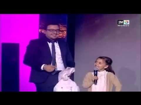 صاحبة الأرنبات وداك الشي في حفل ختام سنة 2014 بالدوزيم