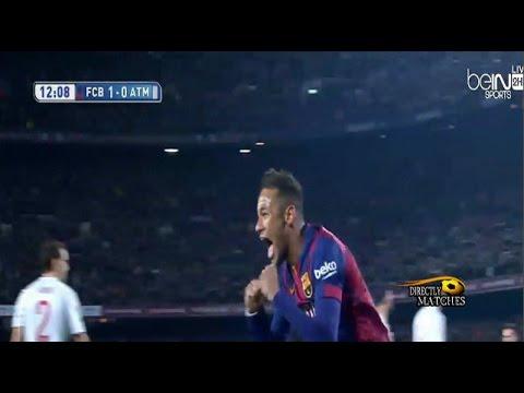 برشلونة واتلتيكو مدريد 3-1