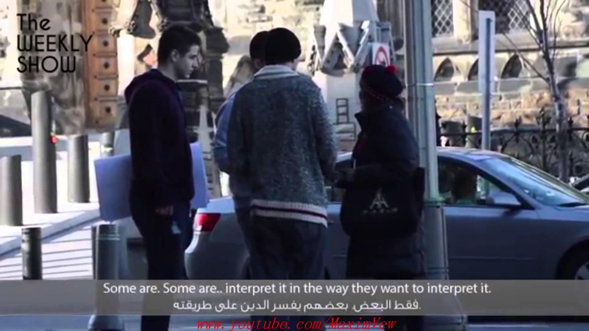 رد فعل الكنديين بعد رفع شعارات معادية للإسلام