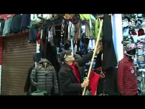 إقبال على الجلباب المغربي لمواجهة البرد