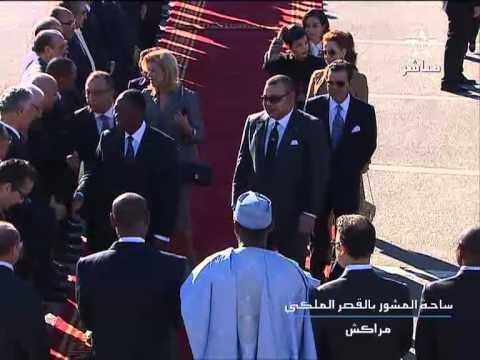 العاهل المغربي يستقبل رئيس الكوت ديفوار