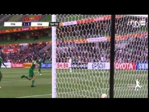 السعودية وكوريا الشمالية 4-1