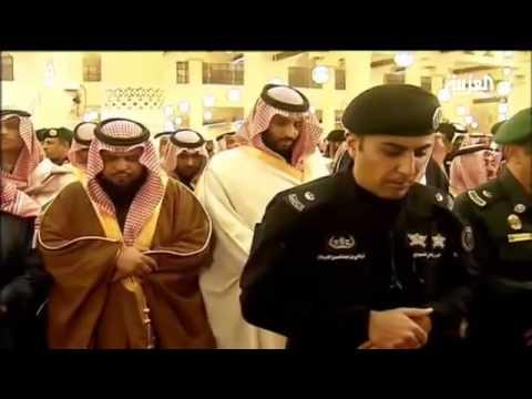 صلاة الجنازة على الملك عبد الله
