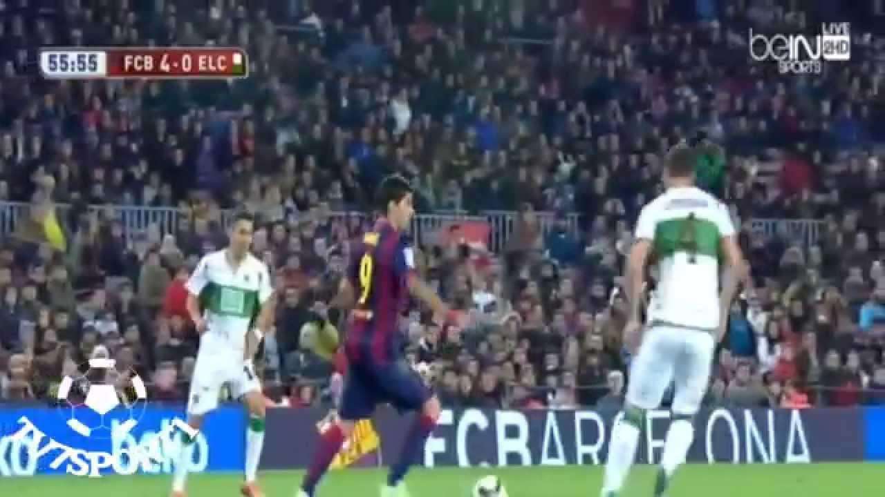 برشلونة والتشى 5-0