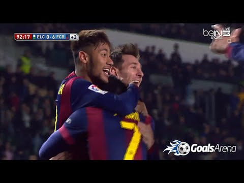 برشلونة والتشي 6-0