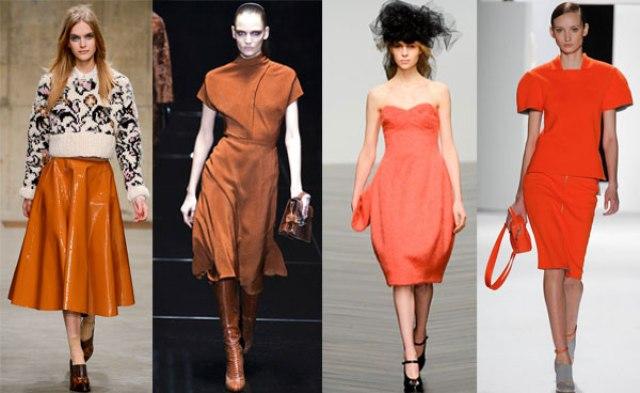 الملابس البرتقالية تلوّن كآبة الشتاء
