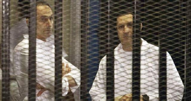 إخلاء سبيل جمال وعلاء مبارك في قضية القصور الرئاسية