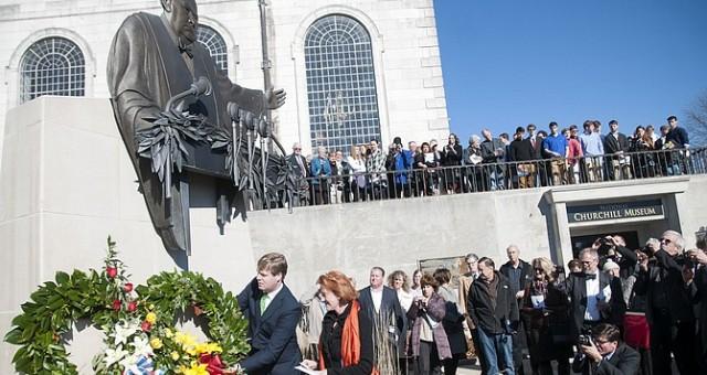 بريطانيا تحتفل بذكرى وفاة تشروشل