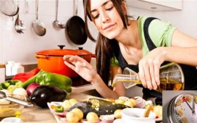 نصائح تساعدك على إعداد الطعام سريعا