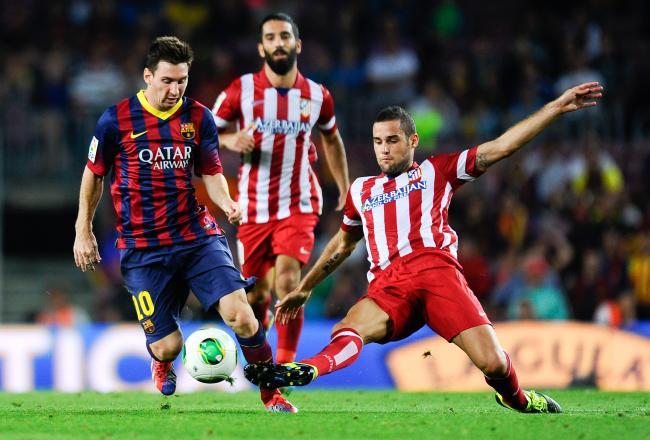 برشلونة يفوز بصعوبة على أتلتيكو في الكأس