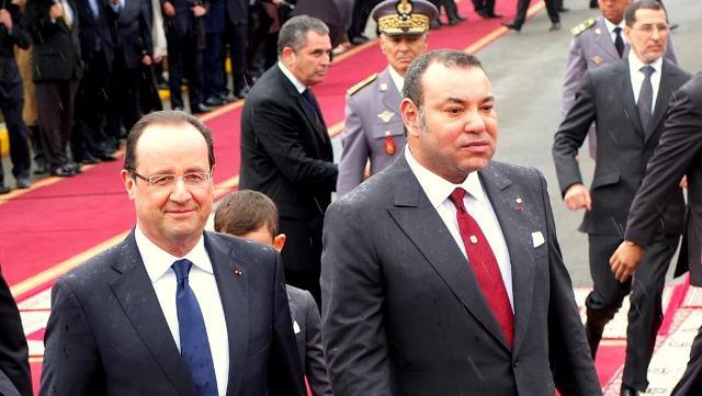 العاهل المغربي يبعث للرئيس الفرنسي ببرقية تعزية وتضامن إثر الهجوم الإرهابي على