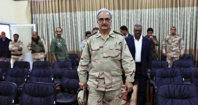 حفتر يحذر طائرات السودان وتركيا من دخول المجال الجوي الليبي