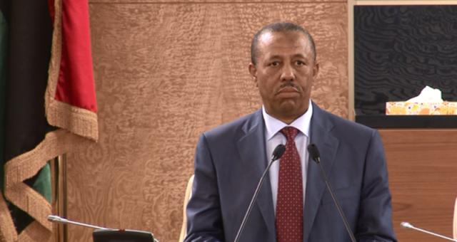 قرب التمديد لعبد الله الثني كرئيس للحكومة في ليبيا