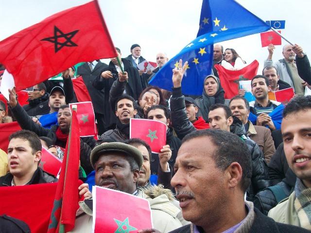 المغاربة على رأس لائحة المهاجرين المسجلين في الضمان الاجتماعي باسبانيا