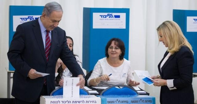 نتنياهو يفوز بالانتخابات التمهيدية لحزب الليكود