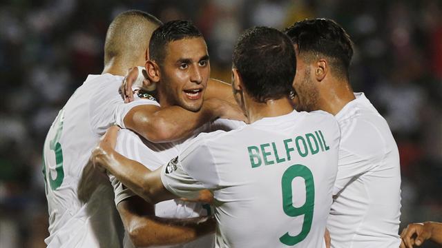 انطلاقة قوية للخضر في كأس افريقيا للأمم