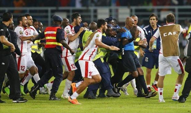 تونس تقصى من الربع بسبب فضيحة تحكيمية