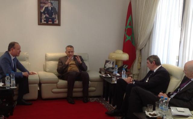 الشوباني يتباحث مع ممثل الاتحاد الأوروبي لحقوق الإنسان حول تطور التجربة المغربية في مجال الديمقراطية