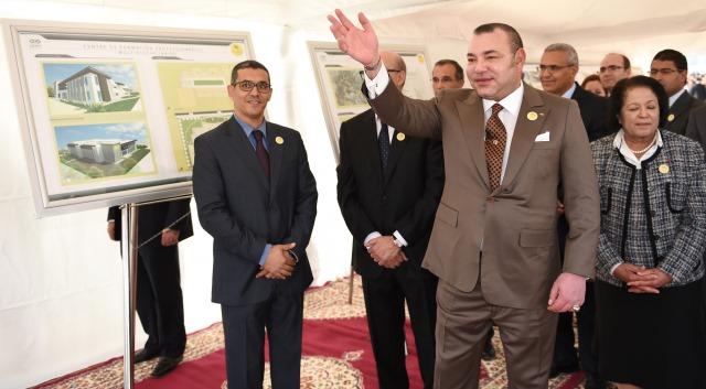 العاهل المغربي يعطي انطلاقة مشاريع جديدة لتحفيز الاندماج السوسيو- اقتصادي  في فاس