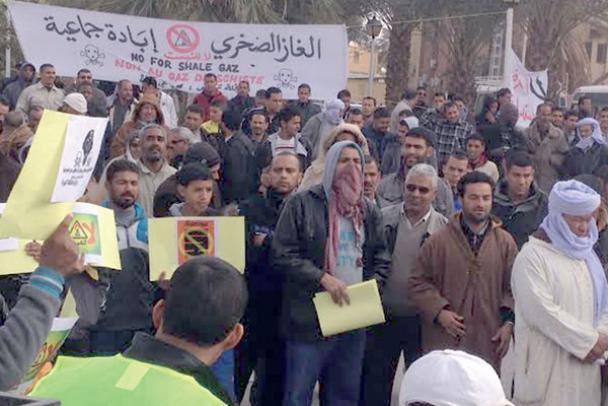 رئاسة الجمهورية الجزائرية لم تقنع رافضي استغلال الغاز الصخري والاحتجاجات تستمر
