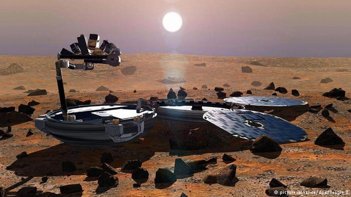 العثور على مركبة فضاء بريطانية مفقودة منذ 11