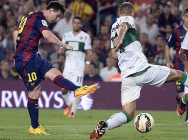 برشلونة يسحق إلتشي بخماسية في كأس الملك