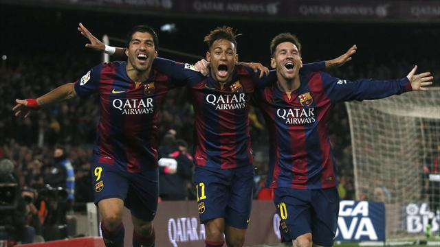 ميسي يقود برشلونة لسحق أتلتيكو مدريد