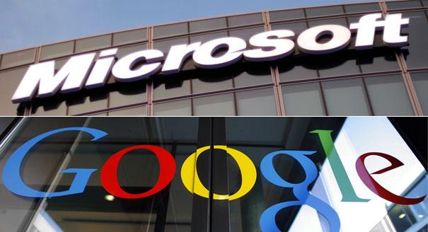 سبب التوتر ما بين غوغل ومايكروسوفت؟
