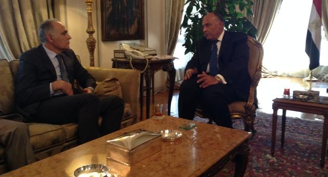وزير الخارجية المصري يهاتف نظيره المغربي من أجل تطويق الأزمة