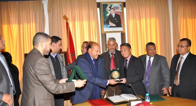 توقيع اتفاقية في الرباط لاستقبال طلبة ماليزيا للدراسة الإسلامية في المغرب