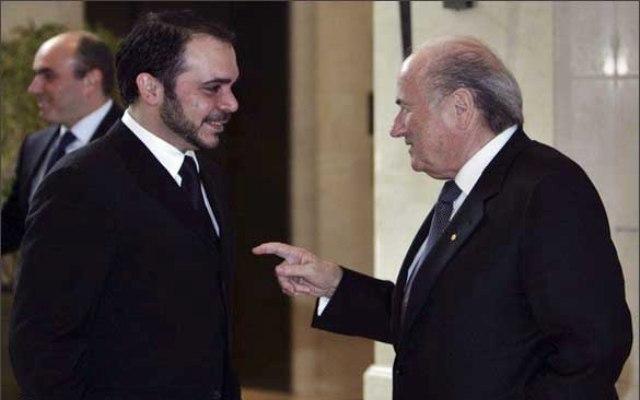 الأمير علي يعلن ترشحه لرئاسة الفيفا