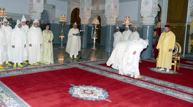 الملك محمد السادس يستقبل عددا من الولاة والعمال الجدد