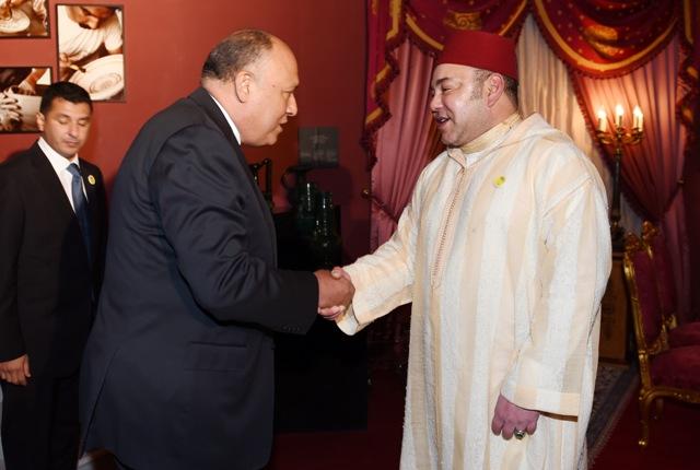 وزير خارجية مصر: للعاهل المغربي رؤية واضحة وثاقبة بخصوص توطيد العلاقات الثنائية بين البلدين