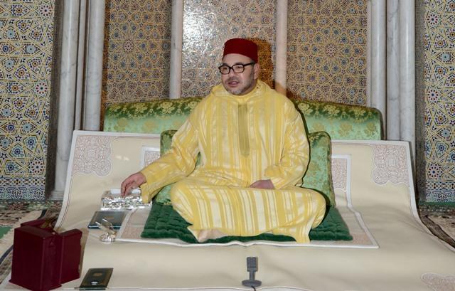 العاهل المغربي يترأس حفلا دينيا في الرباط إحياء لليلة المولد النبوي الشريف