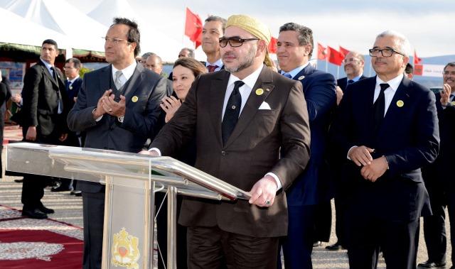 العاهل المغربي يشرف على إطلاق مشاريع هيدرو- فلاحية بإقليم صفرو