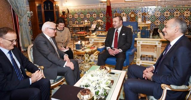 العاهل المغربي يتلقى دعوة من الرئيس الفيدرالي يواخيم غاوك للقيام بزيارة رسمية إلى ألمانيا