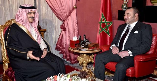 العاهل المغربي يستقبل رئيس الاستخبارات العامة السعودية