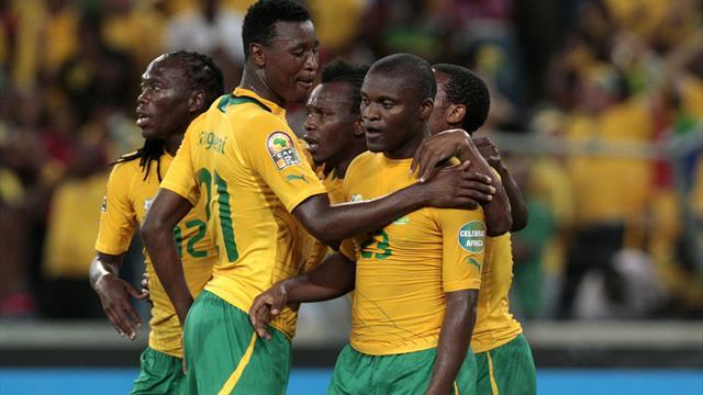 منتخب جنوب إفريقيا يوجه تحذيرا للخضر