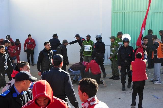 إيقاف 17 شخصا من أنصار الوداد بسبب الشغب