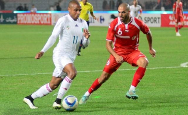 التعادل الايجابي يرضي منتخبي تونس والجزائر