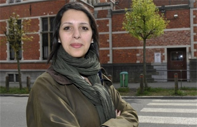 زكية خطابي بلجيكية من أصل مغربي مرشحة للظفر برئاسة مشتركة لحزب البيئة