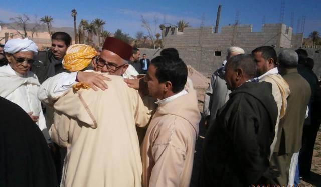 بنكيران يتدخل بخيط أبيض بين  بلكورة وفلاح اعتدى على ابنه