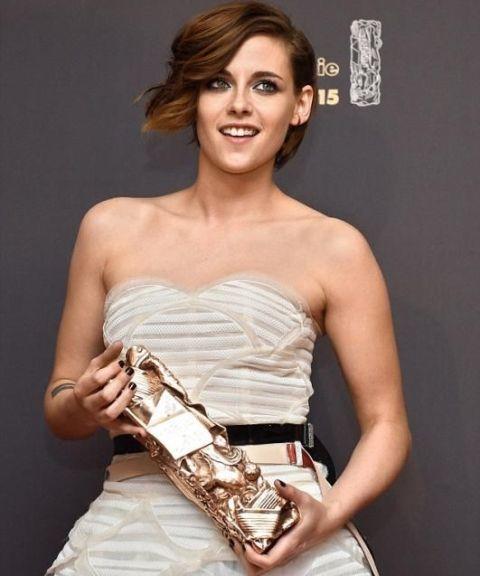 كريستين ستيورات أول أمريكية تنال César Award