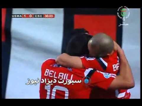إتحاد الجزائر 2 0 شباب قسنطينة