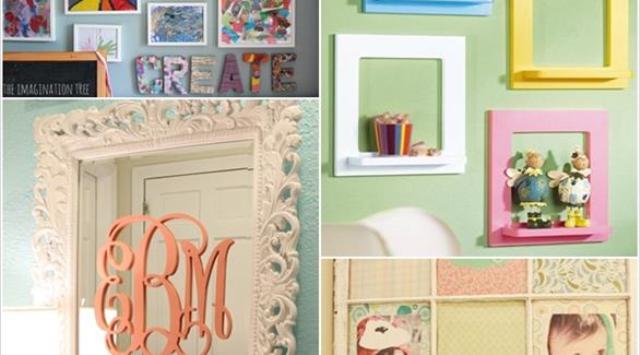أفكار لاستخدام إطارات الصور في ديكور المنزل