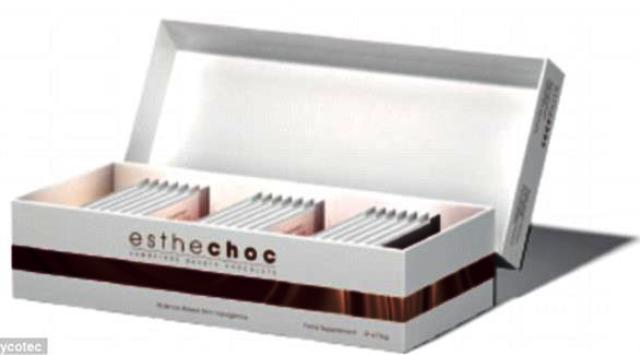 شوكولاتة جديدة لعلاج التجاعيد ومشاكل البشرة