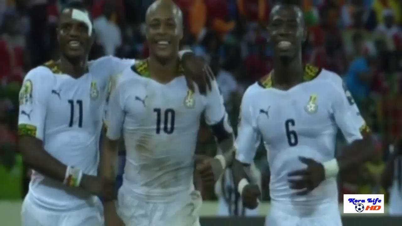 غانا وغينيا الاستوائية 3-0