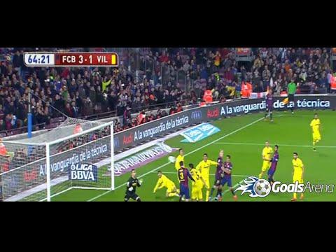برشلونة وفياريال 3-1