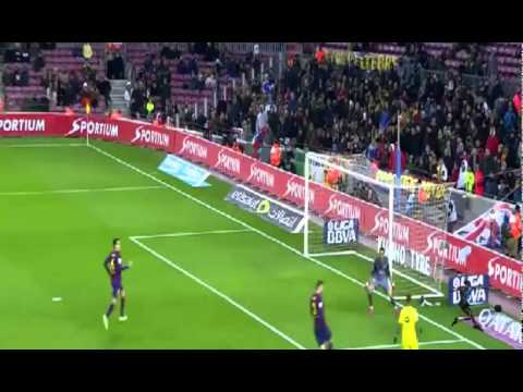 برشلونة 3-2 فياريال